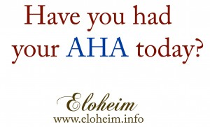 Have you had your AHA today?